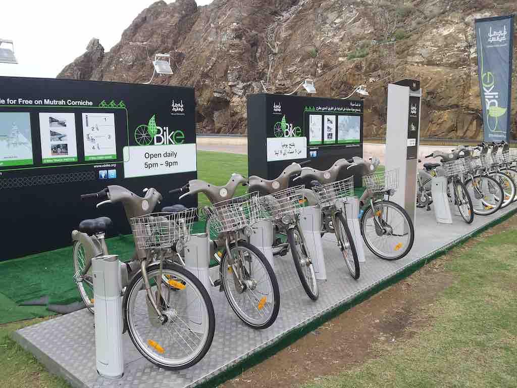 Muscat, Oman Bike rental