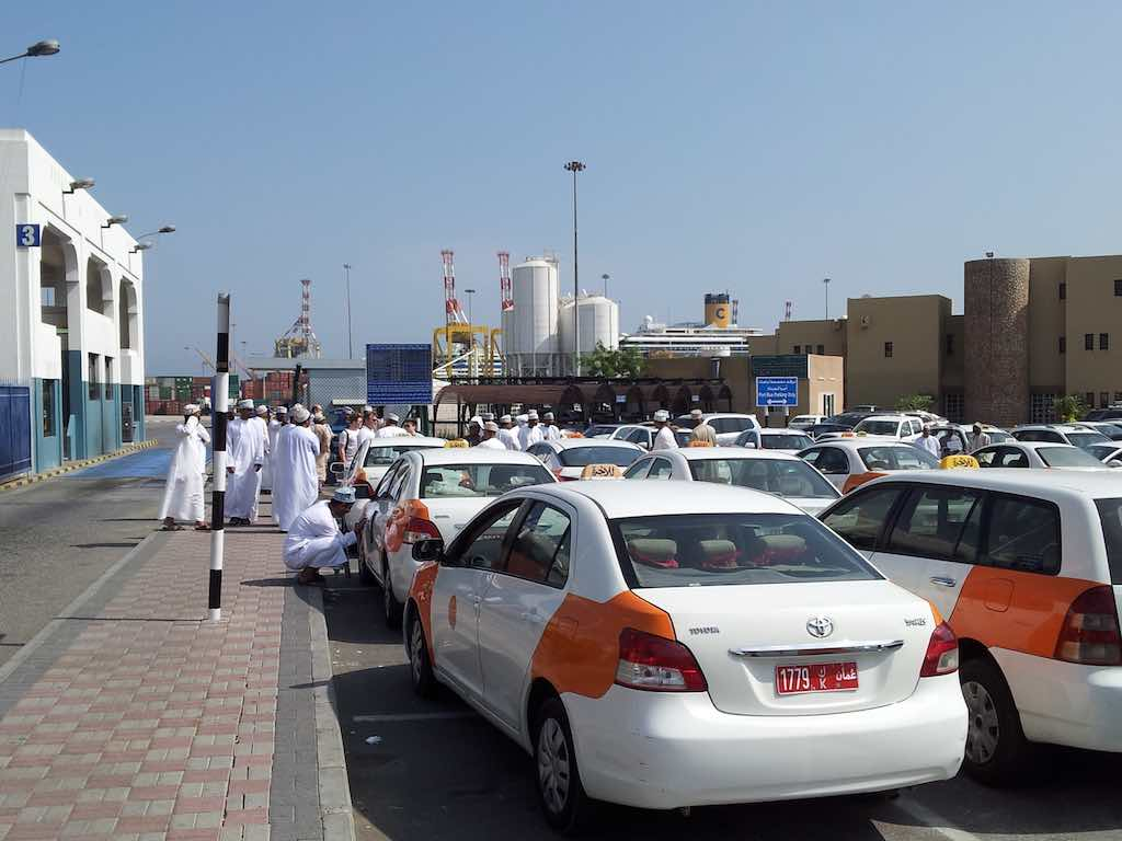 Muscat, OmanTaxi Stand