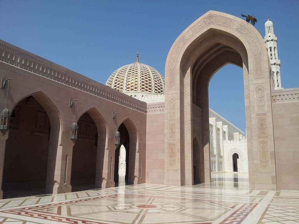 Muscat, Oman, The Grand Mosque
