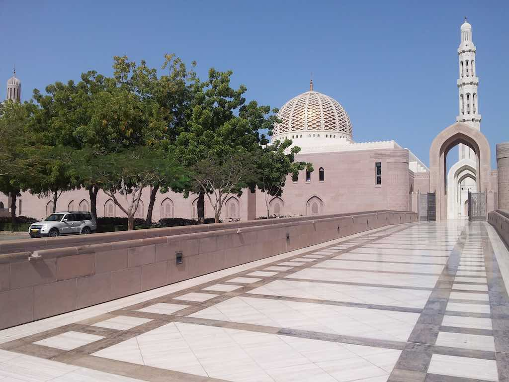 Muscat Oman Grand Mosque