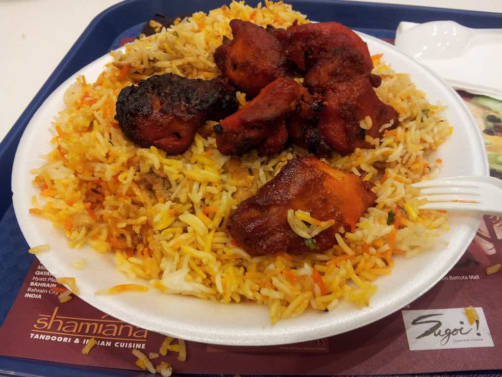 Muscat Oman Rice and Chicken