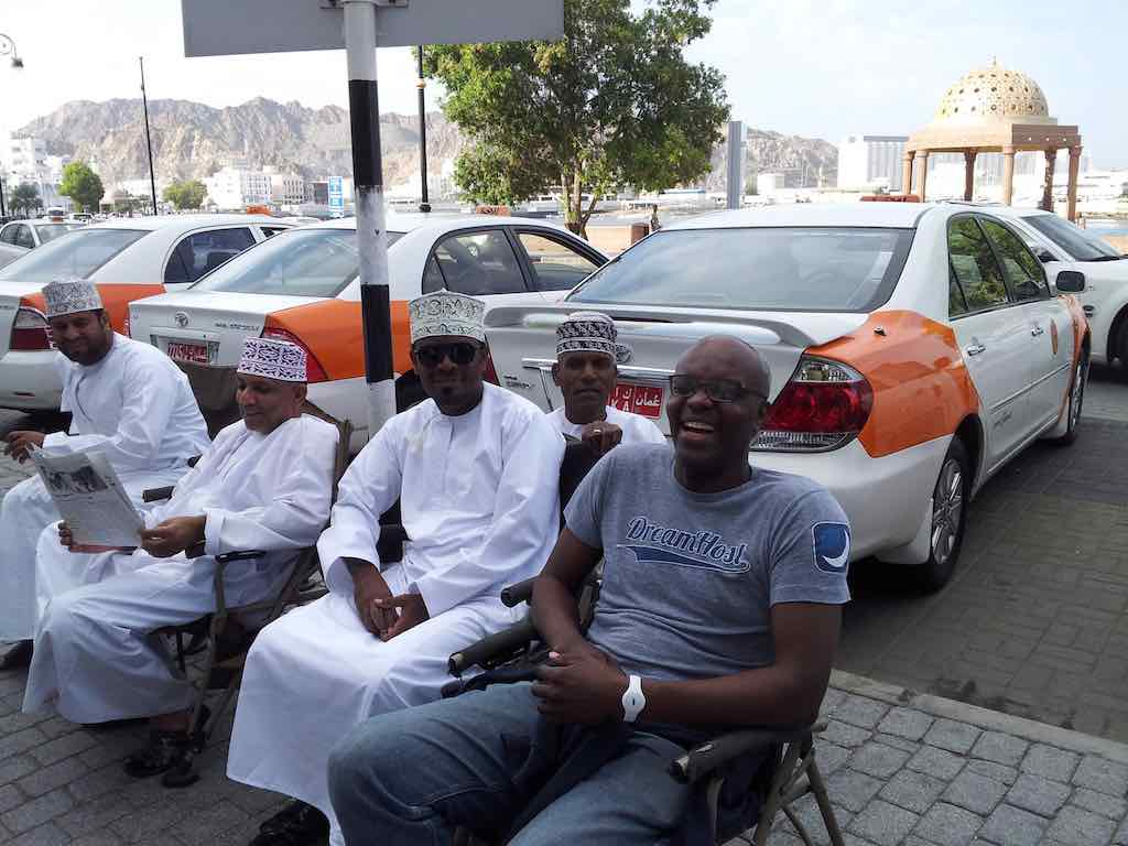 Muscat Oman Taxi Drivers