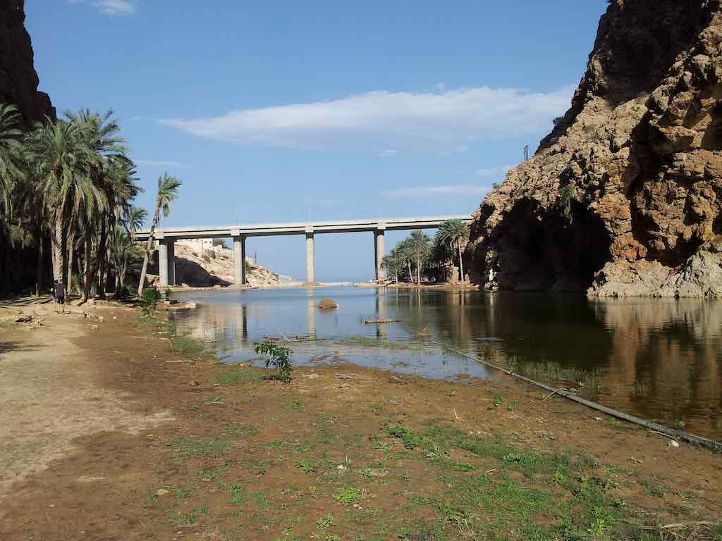 Muscat Oman Wadi Bridge