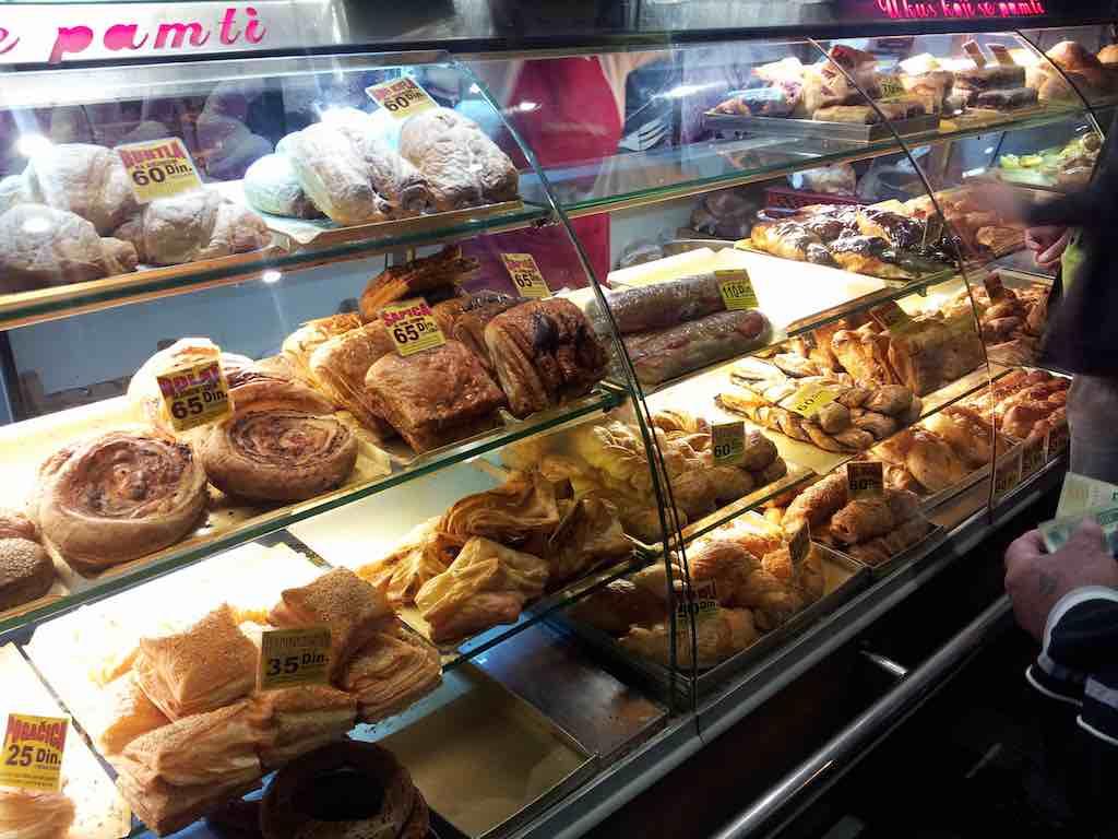Belgrade, Serbia - pastry