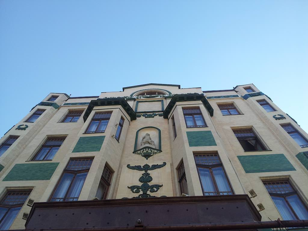 Hotel Moskva in Belgrade, Serbia