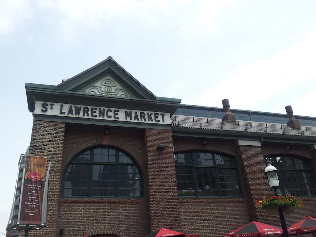 Toronto - St. Lawrence Market in Toronto ON Canada