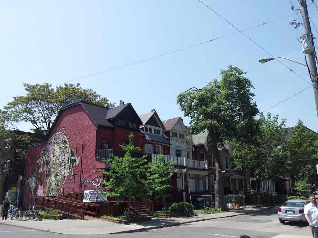 Toronto - some of the homes in the inner city