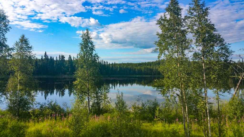 Inlansbanan-Swedish Country side