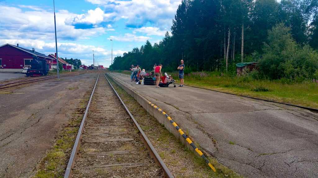 Inlansbanan-Vilhelmina Platform