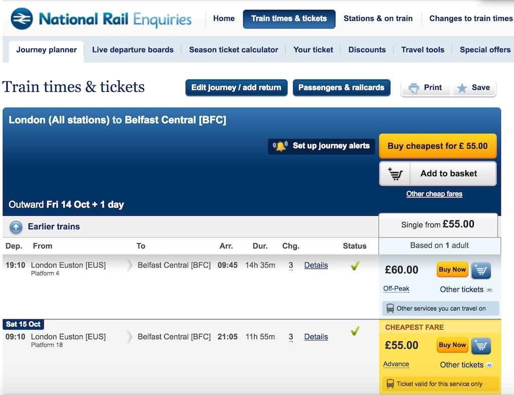 UK APD - National Rail
