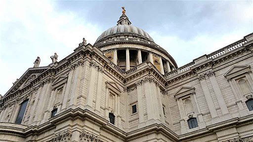St. Paul's Cathedral Dome, London, England