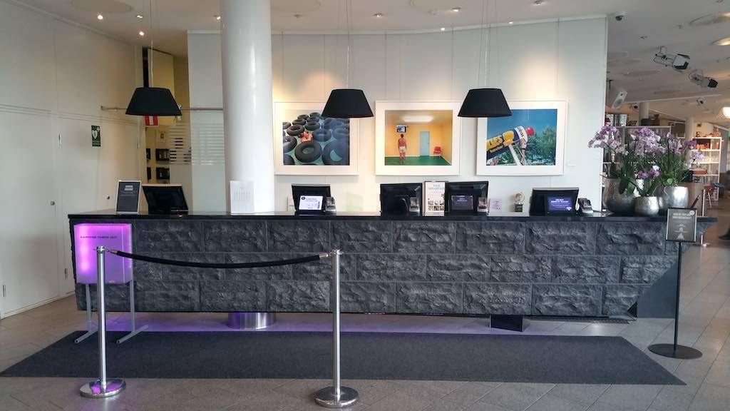 Choice Hotel Sign Stockholm - Front Desk