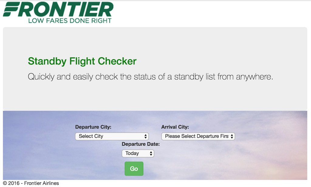 Frontier Standby Checker (F9)