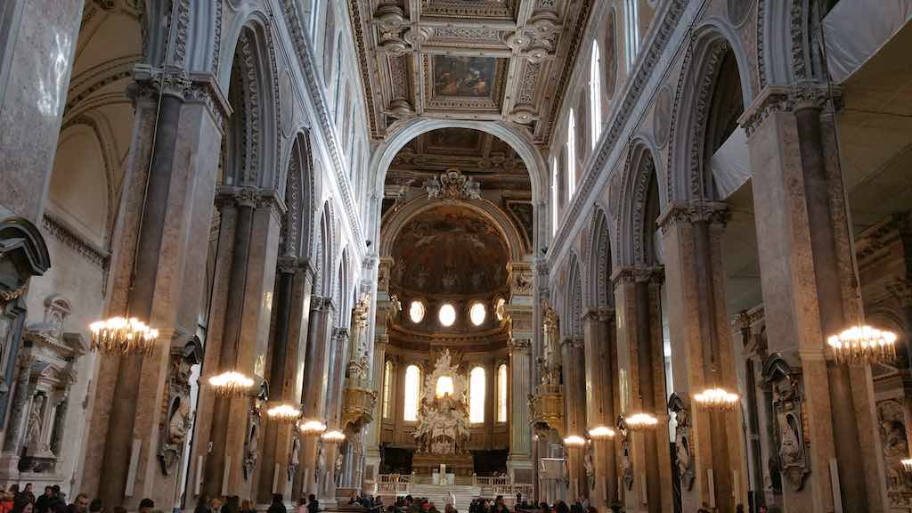 UNESCO World Heritage Sites - Church in Naples, Italy