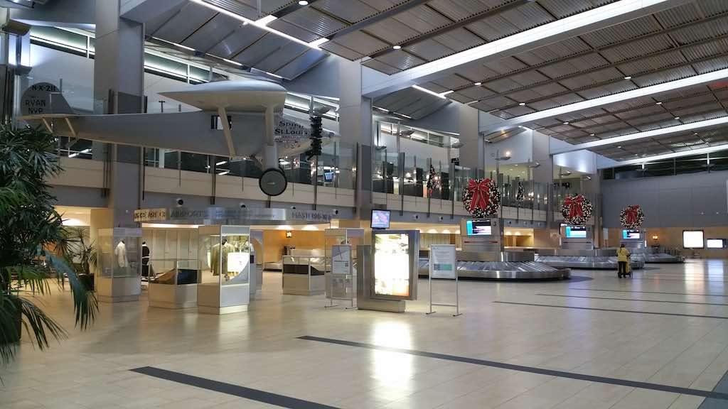 Christmas Tree - San Diego International Airport Baggage Claim (SAN)