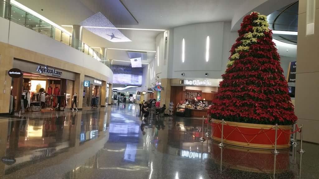 Christmas Tree - San Diego International Airport post Security SAN
