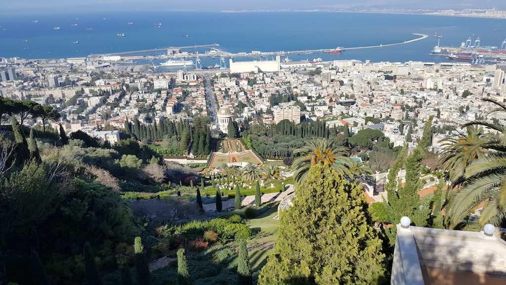 Haifa, Israel - The Bahai Gardens