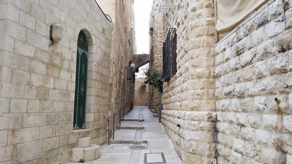 Jerusalem, Israel - Old City Armenian Quarter