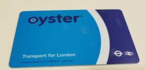 London, England - Oyster Card