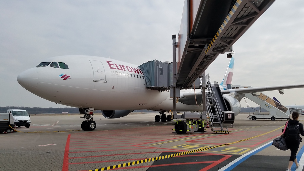 Eurowings Airbus A330 in CGN