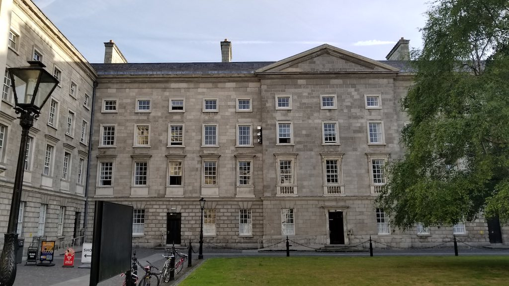 Trinity College Accommodations Entrance