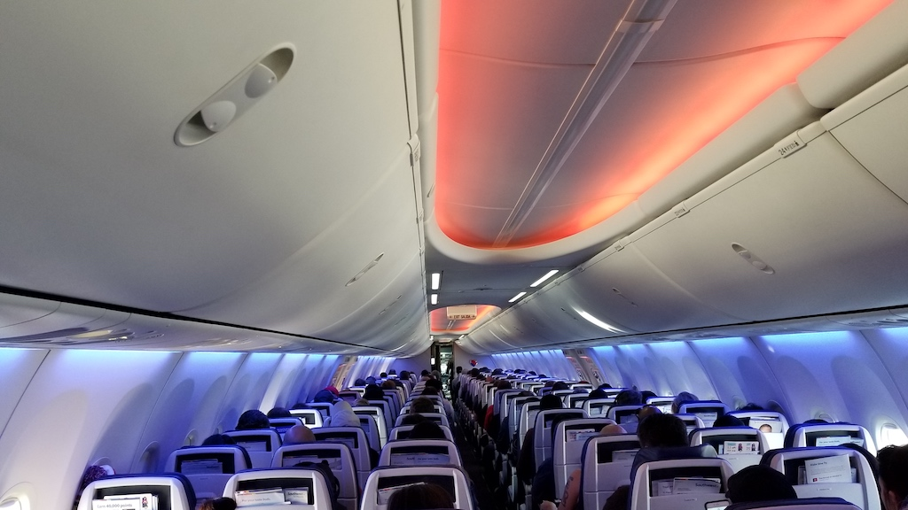 Southwest Airlines (WN) Boeing 737 Max Interior