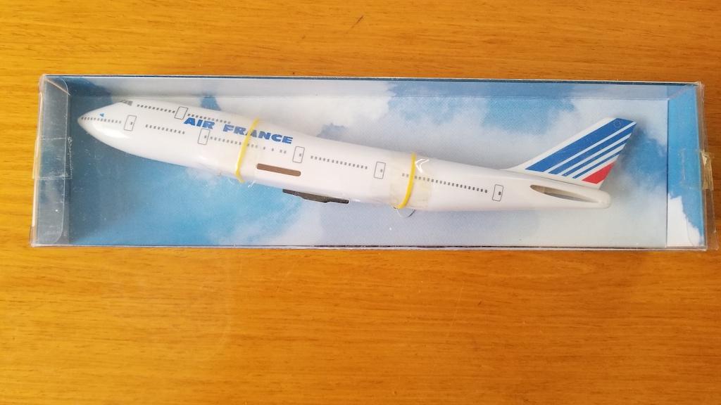 Air France Boeing 747-400 Model Airplane