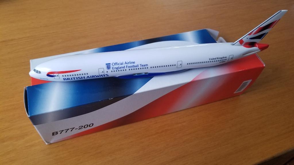 British Airways Boeing 777-200 Model Airplane