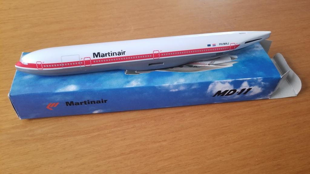 Martinair MD-11 Model Airplane