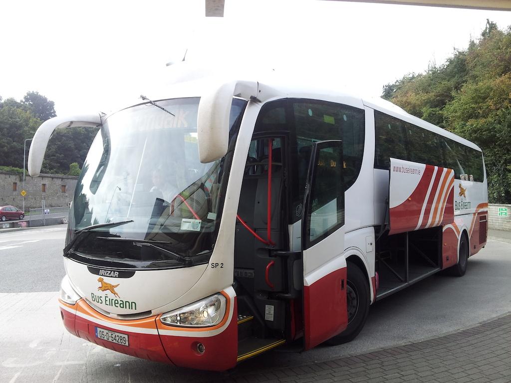 Bus Eireann to Droghed, Ireland