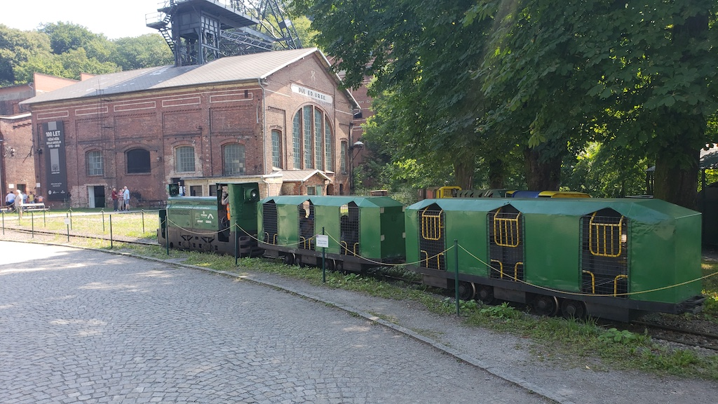 Ostrava, Czech Republic Landek Park Mining Museum Train