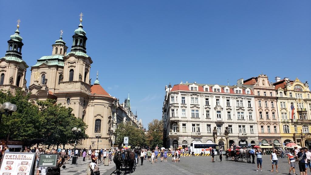 Prague, Czech Republic - Old Town Hall Square