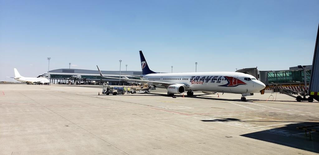 Prague, Czech Republic - Prague Airport Travel Service Boeing 737-800