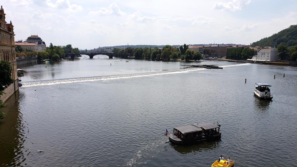 Prague, Czech Republic - St. Charles Bridge View