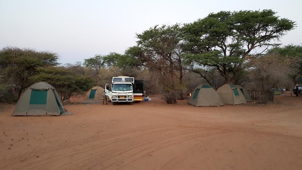 Wild Dog Safaris - Ghanzi, Botswana - Dqae Qare San lodge Campsite