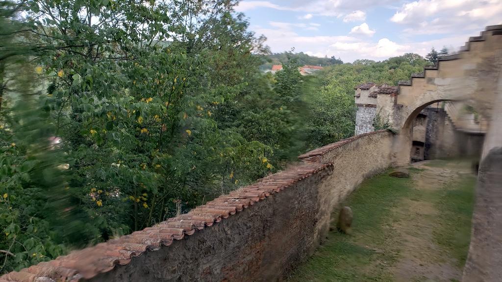 Křivoklát Castle - Castle Courtyard