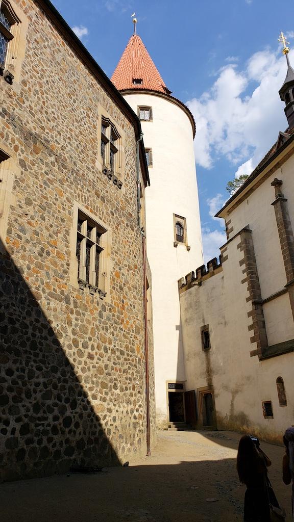 Křivoklát Castle - Castle Main Tower