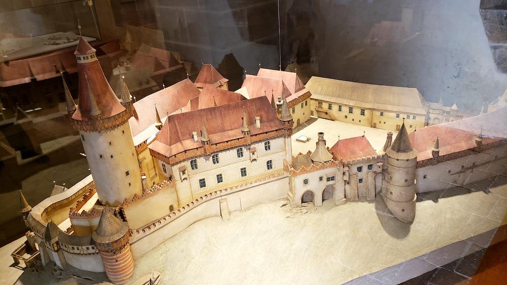 Křivoklát Castle - Model of Castle