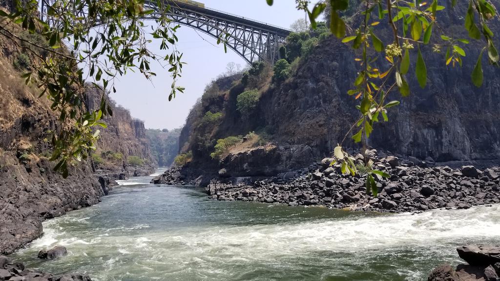 Wild Dog Safaris - Victoria Falls, Zambia - Victoria Falls Bridge Under the bridge