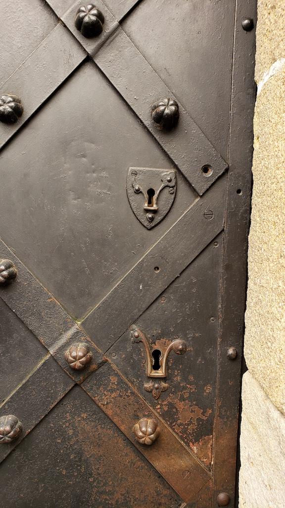 Karlštejn Castle - Door Key Holes