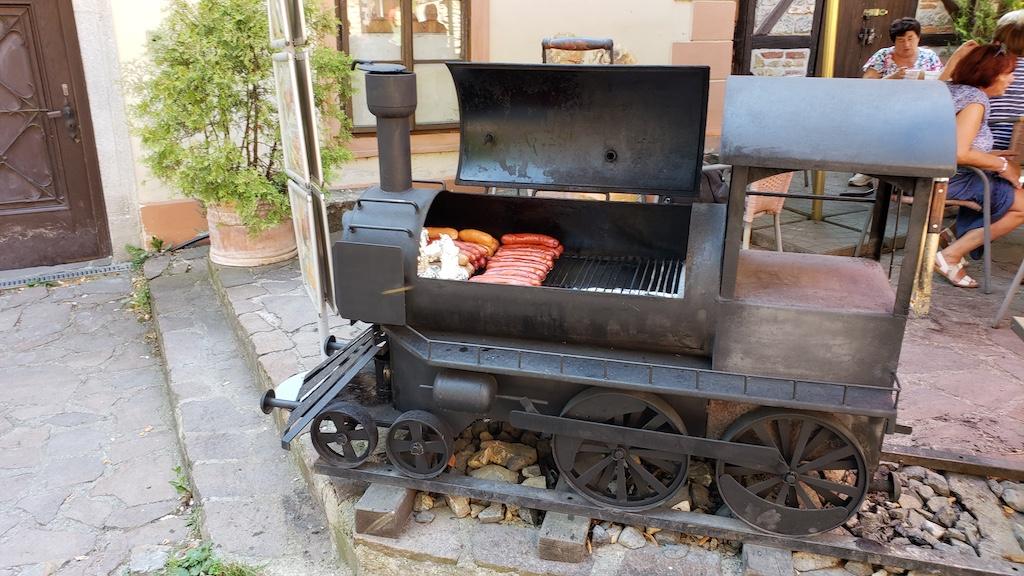 Karlštejn Castle - Train Barbecue