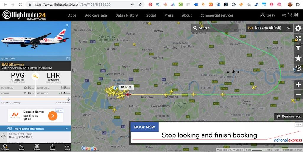 Plane Spotting - FlightRadar24