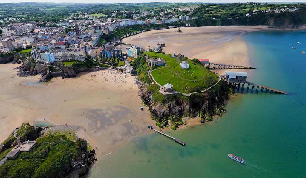 Tenby, Pembrokeshire, Wales United Kingdom