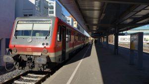 Vaduz, Liechtenstein - Train from Friedrichshafen Hafen to Ferry Terminal