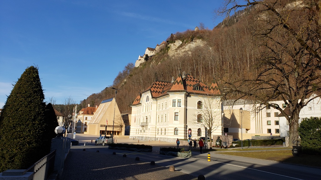 Vaduz, Liechtenstein - Government Building
