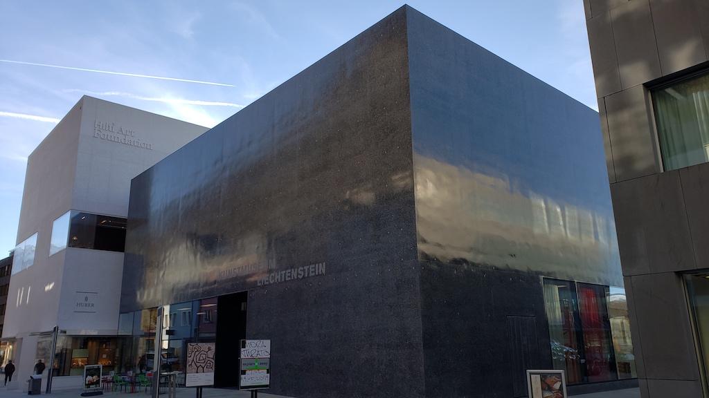 Vaduz, Liechtenstein - Hilti Art Foundation and Liechtenstein Art Museum