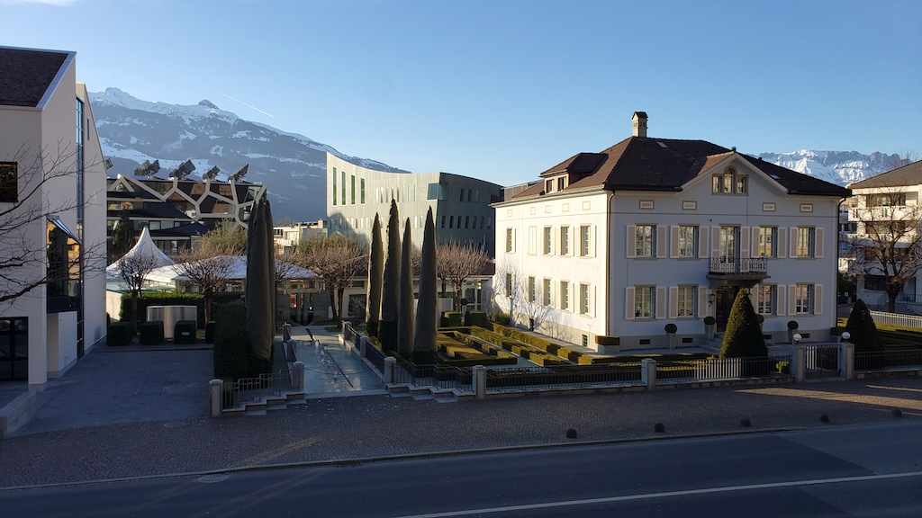 Vaduz, Liechtenstein - Library Area