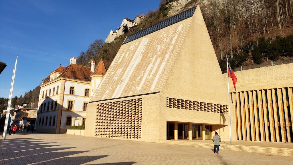 Vaduz, Liechtenstein - Parliament Building