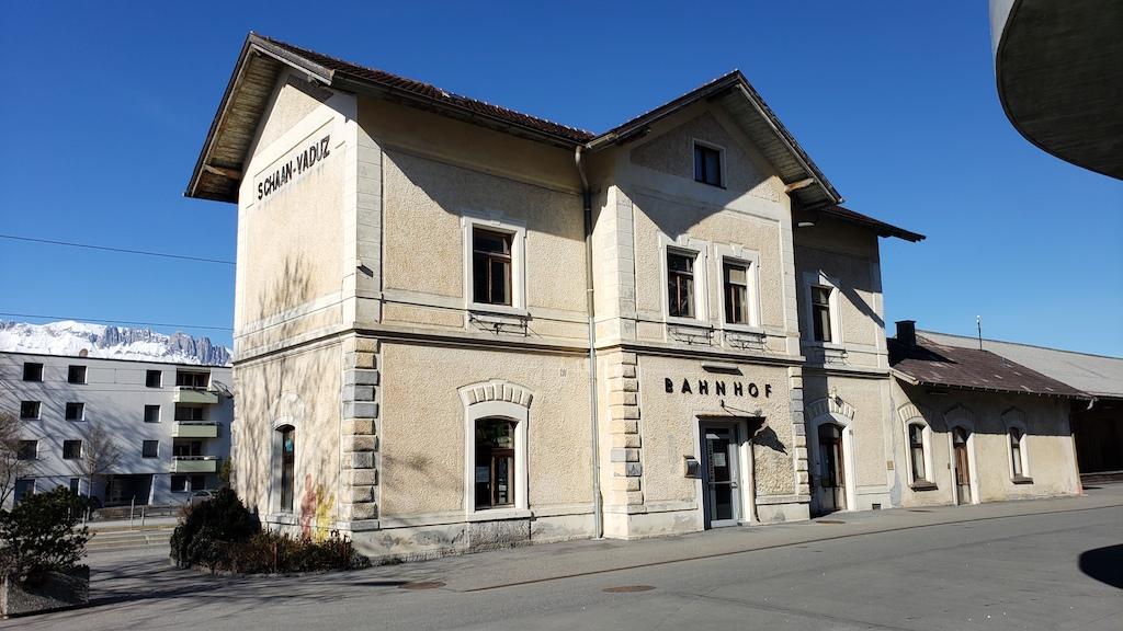 Vaduz, Liechtenstein - Schaan-Vaduz Bahnhof