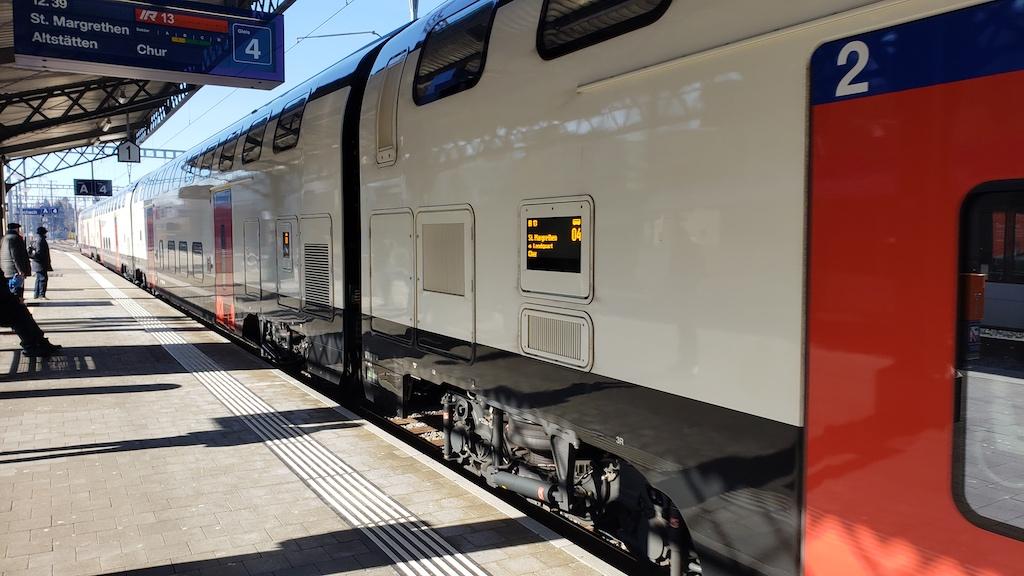 Vaduz, Liechtenstein - Swiss Rail